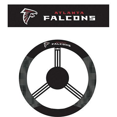 NFL Atlanta Falcons Steering Wheel Cover