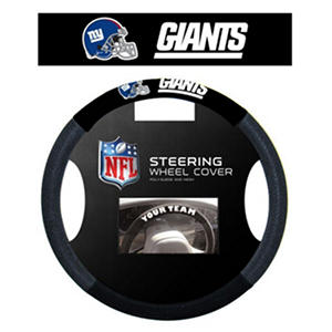 NFL New York Giants Steering Wheel Cover