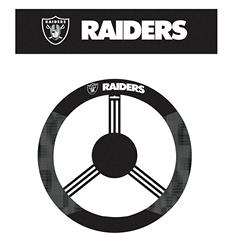 NFL Oakland Raiders Steering Wheel Cover