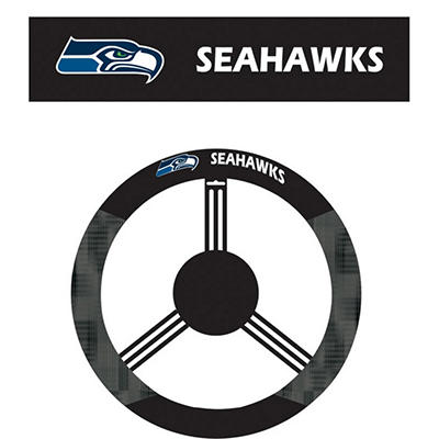 NFL Seattle Seahawks Steering Wheel Cover