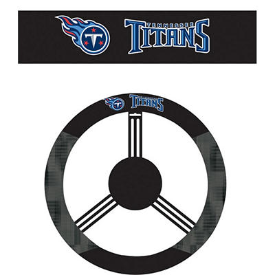 NFL Tennessee Titans Steering Wheel Cover