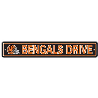 NFL Cincinnati Bengals Street Sign