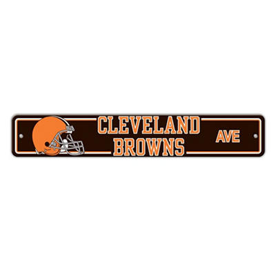 NFL Cleveland Browns Street Sign