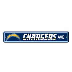 NFL San Diego Chargers Street Sign