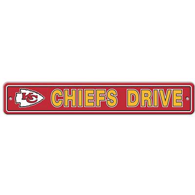 NFL Kansas City Chiefs Street Sign