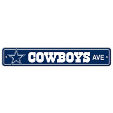 NFL Dallas Cowboys Street Sign