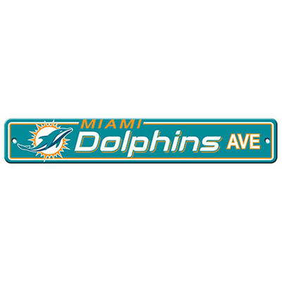 NFL Miami Dolphins Street Sign