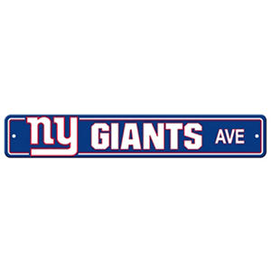NFL New York Giants Street Sign