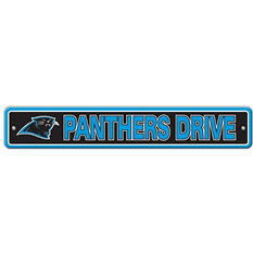 NFL Carolina Panthers Street Sign
