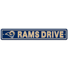 NFL St. Louis Rams Street Sign