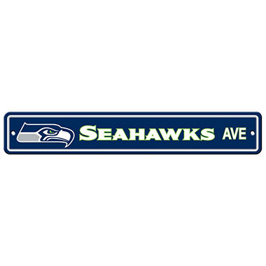NFL Seattle Seahawks Street Sign