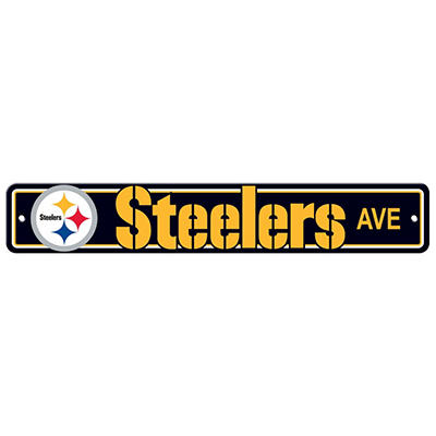 NFL Pittsburgh Steelers Street Sign