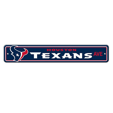 NFL Houston Texans Street Sign