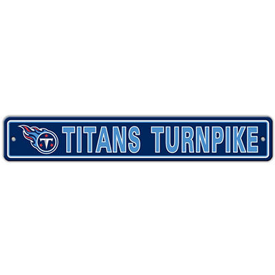NFL Tennessee Titans Street Sign