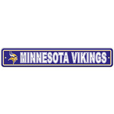 NFL Minnesota Vikings Street Sign