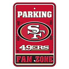 NFL San Francisco 49ers Parking Sign