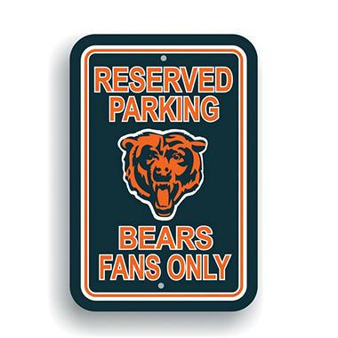 NFL Chicago Bears Parking Sign