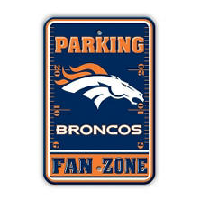 NFL Denver Broncos Parking Sign