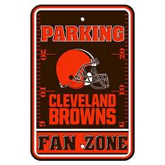 NFL Cleveland Browns Parking Sign