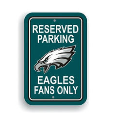 NFL Philadelphia Eagles Parking Sign