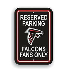 NFL Atlanta Falcons Parking Sign