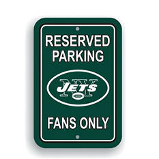 NFL New York Jets Parking Sign