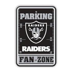 NFL Oakland Raiders Parking Sign