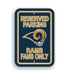 NFL St. Louis Rams Parking Sign