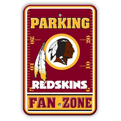 NFL Washington Redskins Parking Sign