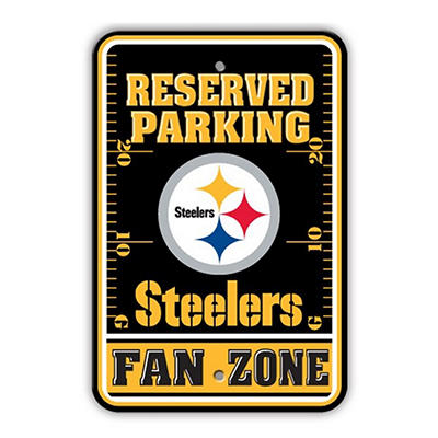 NFL Pittsburgh Steelers Parking Sign