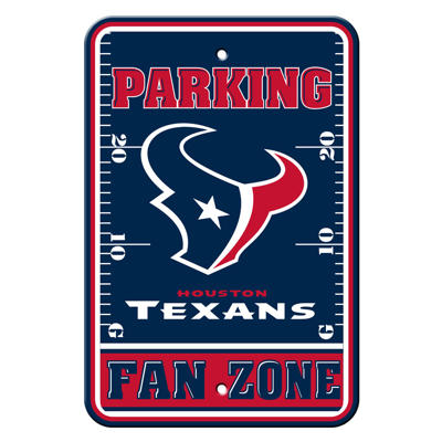 NFL Houston Texans Parking Sign