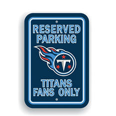 NFL Tennessee Titans Parking Sign