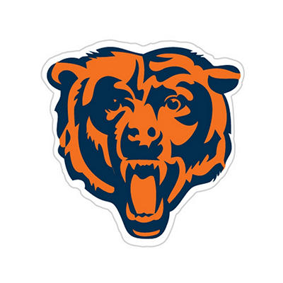 NFL Chicago Bears Window Film
