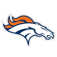 NFL Denver Broncos Window Film