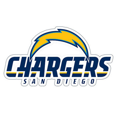 NFL San Diego Chargers Window Film