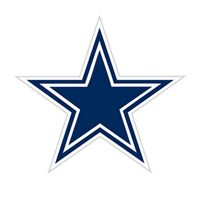 NFL Dallas Cowboys Window Film