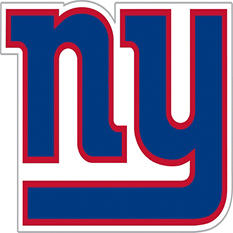 NFL New York Giants Window Film