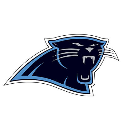 NFL Carolina Panthers Window Film