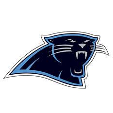NFL Carolina Panthers Window Film