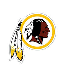 NFL Washington Redskins Window Film