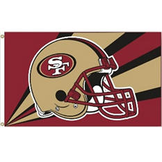 NFL San Francisco 49ers 3' x 5' Flag