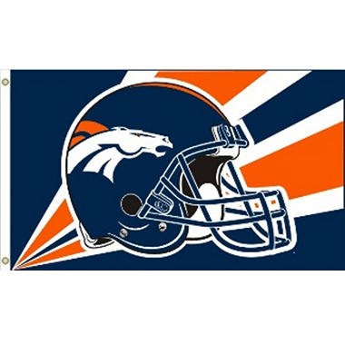 NFL Denver Broncos 3' x 5' Flag