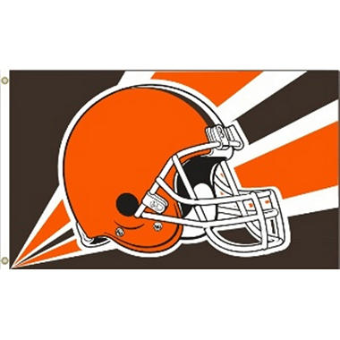 NFL Celeveland Browns 3' x 5' Flag