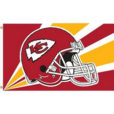 NFL Kansas City Chiefs 3' x 5' Flag