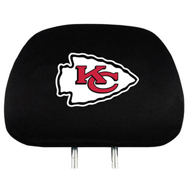 NFL Headrest Cover - Kansas City Chiefs (Save Now)