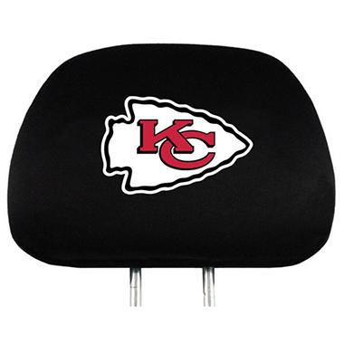 NFL Headrest Cover - Kansas City Chiefs (Save Now)