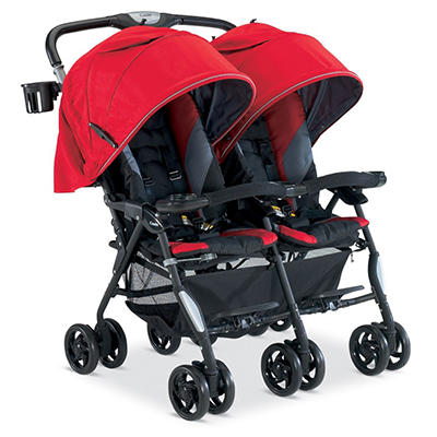 Combi Twin Cosmo Stroller, Red