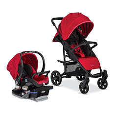 Combi Shuttle Travel System, Red Chili