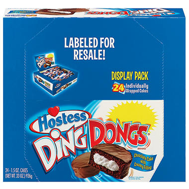 Hostess Ding Dongs - 24 pk.