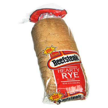 Beefsteak® Hearty Rye Bread - 32 oz.